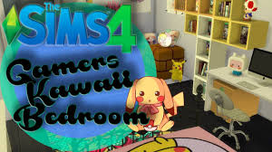 the sims 4 kawaii gamers bedroom youtube