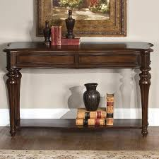 Lower Coffee Table by Andalusia Traditional Sofa Table With Lower Shelf Rotmans Sofa