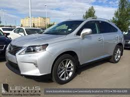 lexus rx 350 canada 2015 lexus rx 350 awd technology package review in silver