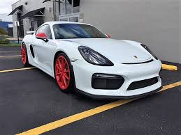 used cayman porsche 2016 used porsche cayman gt4 at luckydriver sportcars serving