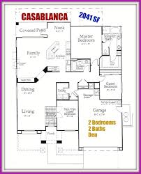 del webb sun city palm desert ca floor plan for the casablanca