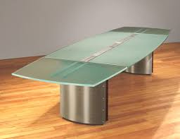 Frosted Glass Conference Table Glass Top Conference Tables Contemporary Boardroom Tables