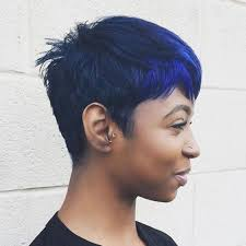 conservative short haircuts for women balayage black to blue short haircuts for black women 2018