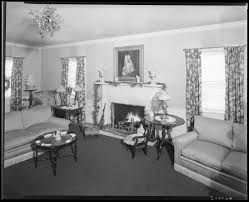 1930 Home Interior by Mrs Royce G Martin Interior Of House Home Living Room With