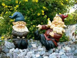 garden gnome brothers lawn ornaments johnnyappleseedhomeandyard