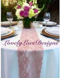 dusty rose table runner dusty rose lace table runner 3ft 10ft long x 12 wide lace overlay