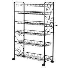 metallregal küche hlc 6 tier freistehende metall bad küche storage regal rack mit