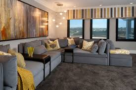 Home Theatre Design Los Angeles by Hamptons Inspired Luxury Theater Before And After