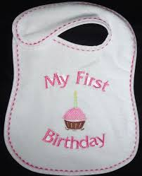 1st birthday bib birthday bibs