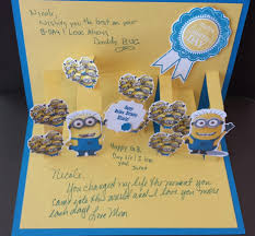 minion fan u0026 golden birthday how could i resist stamping all