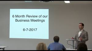 6 month review of real estate classes u0026 business meetings youtube