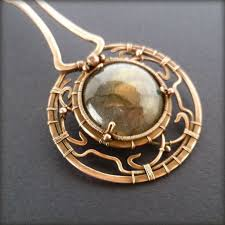 wire jewelry necklace images 35 best copper wire pendant images wire jewelry jpg