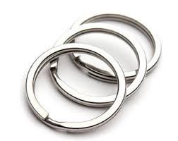 steel key rings images Key ring etsy jpg