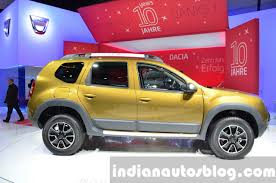 renault dacia 2015 2016 dacia duster side right at iaa 2015 indian autos blog