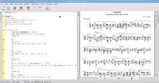 music notation software for linux a progress report part 1