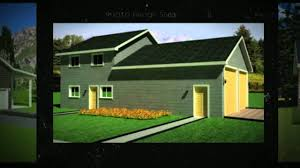 best selection of garage plans with loft options youtube