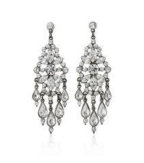 Black And Silver Chandelier Earrings Ben Amun Teardrop Crystal Chandelier Earrings Wedding Earrings