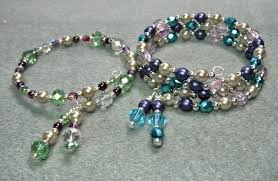 make bracelet beading wire images How to make a memory wire bracelet video tutorial beaded jpg