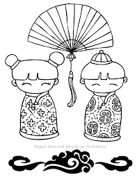 chinese new year colouring pictures kids coloring europe