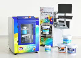 ข าวเศรษฐก จ ว นน toa introduces u201ctoa color world u201d paint color