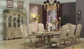 Traditional Dining Room Furniture Sets Vendome Gold Formal Dining Table Set Home Devotee