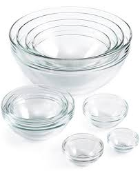 martha stewart collection 10 pc glass mixing bowl set created