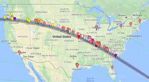 houston event map put your eclipse event on the map american astronomical society