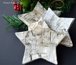 how to make birch bark ornaments the easy way