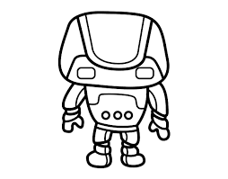 strong robot coloring coloringcrew