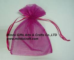 tulle bags sell organza