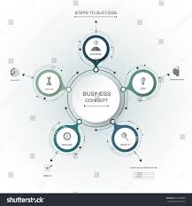 vector infographics 3d paper cycle diagram stock vector 561960088 vector infographics 3d paper cycle diagram template blank space for data content business