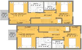 small narrow house plans a solution for small house floor plans