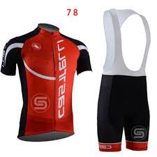 red cycling jacket sports mens cycling clothing bike short sleeve jersey bib shorts