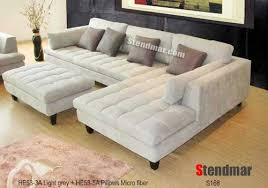 Gray Microfiber Sofa by Http Www Couchesusa Com Sectional With Chaise Couch Contact