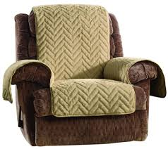 Recliner Sofa Cover by Sure Fit Sheared Faux Fur Recliner Furniture Cover Page 1 U2014 Qvc Com