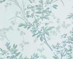 Seafoam Green Wallpaper by Templeton Garden Jean Monro Wallpaper Collections Hand