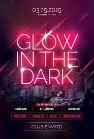 glow in the dark poster glow in the dark poster designs on behance