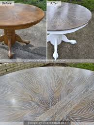 Painted Kitchen Table Ideas by Best 20 Grey Table Ideas On Pinterest Grey Stain Grey Stained