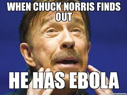 Chuck Norris Memes - chuck norris ebola weknowmemes generator