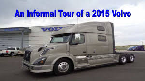 volvo trucks for sale by owner an informal tour of a 2015 volvo youtube
