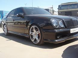 mercedes benz w210 wald body kit benztuning