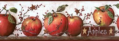 Kitchen Apples Home Decor York Tan Speckled Apple Spot Wallpaper Wallpaper U0026 Border