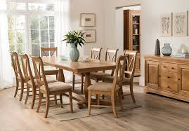 carmen extendable dining table and 8 chairs flowerhill furniture