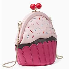 cupcake purse kate spade handbags hp ks birthday cake cupcake crossbody clutch