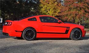 Mustang Boss 302 Black And Red 2012 Ford Mustang Boss 302 Coupe 115922