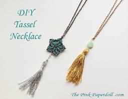 tassel necklace make images Tassel necklace diy the pink paperdoll jpg