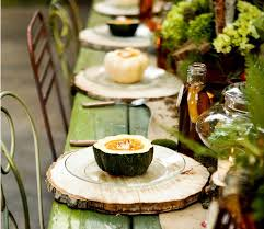 Fall Table Settings Fall Gourds Table Settings