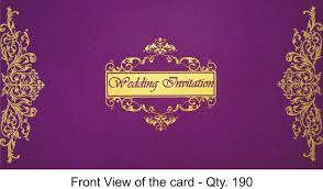 Invitation Card Cover Pakistani Wedding Invitation Cards Designs