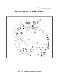 grade 2 numbers joining worksheet 1 kidschoolz