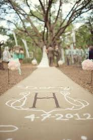 burlap wedding aisle runner an eventful week burlap weddings and wedding